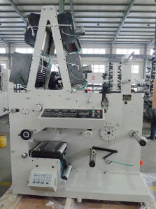 Flexo Printing Machine with Two Rotary Die Cutting Station pictures & photos