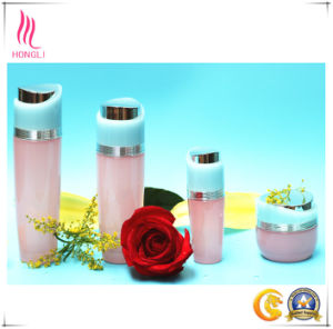 Aluminum Cover Cosmetic Glass Bottle pictures & photos