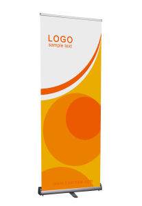 China Aluminum Retractable Pull Roll up Banner pictures & photos