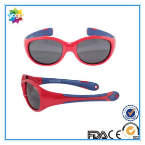 UV400 Polarized Sunglasses for Kids Tr90 Frame with Polycarbonate Lens