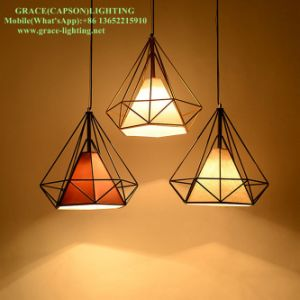 Damond Iron Track Decorative Pendant Lamp for Restaurant Lighting (GD-9041-1) pictures & photos