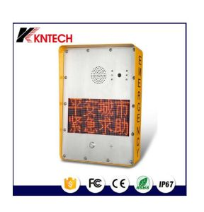 Knzd-33 VoIP Railway Telephone Security Protection Phone pictures & photos