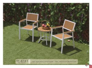 Garden Patio Plastic Wood Furniture Outdoor pictures & photos