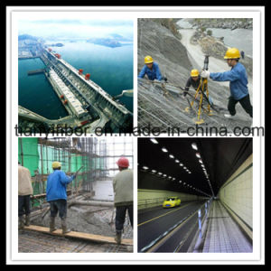 PP Concrete Fibres Chemical Fiber Polypropylene Monofilament Fiber with SGS, ISO pictures & photos