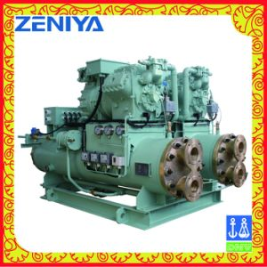 Screw Type Compressor Condensing Unit with Good Service pictures & photos