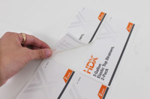 Custom Litho Printing Self Adhesive Labels