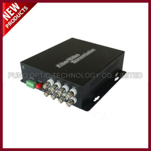 8 Channel Video Fiber Optic Converter with Audio and Data pictures & photos