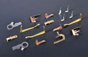Riveting and Welding Part Contact Terminal pictures & photos