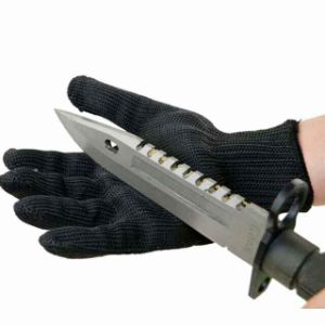 Tactical Knife Resistance Anti Cut Kevlar Gloves Working Gloves (SYSG-1122) pictures & photos