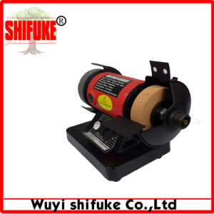 China Mini Grinding Machine Bench Grinder Manufacturer pictures & photos
