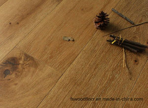Limed Natural Oiled American Oak Engineered Timber Flooring pictures & photos