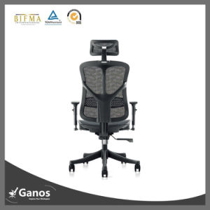 Grey Color Mesh Low Price Visitor Chair Mesh Style pictures & photos