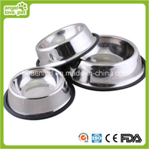 Skidproof Stainless Steel Pet Bowl pictures & photos
