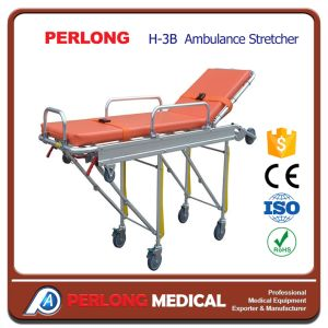 Most Popular Hospital Equipment Ambulance Stretcher H-3b pictures & photos