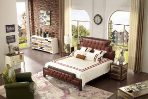 The Comfortable Bedding Set of Home Furniture (A801) pictures & photos