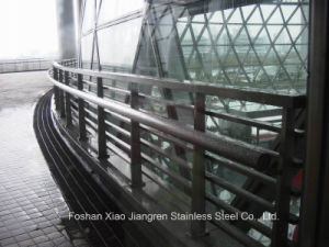 Stainless Steel Ball Joint Handrail Steel Railing for Building Material pictures & photos