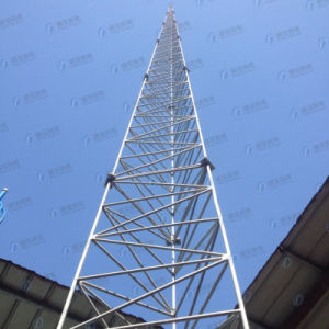 Angle Steel HDG Tubular Telecommunication Tower pictures & photos