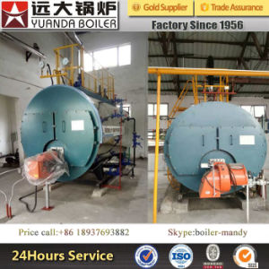 Horizontal 3-Pass Fire Tube Gas and Oil Fired Hot Water Boiler for Sale pictures & photos
