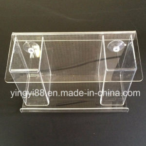 Custom Clear Acrylic Bird House with Strong Suction Cups pictures & photos