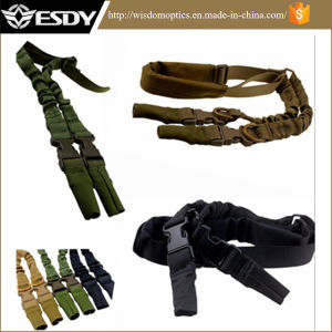 Military Tactical Rifle Airsoft Adjustable Sling with Shoulder Pad pictures & photos