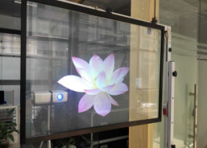 Dark Gray Rear Projection Film with Adhesive Layer pictures & photos