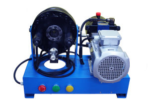 Portable/Mobile/Vehicle/Boat-Mounted High Pressure Hydraulic Hose Crimping Machine/Tool/Crimper Driven by DC12/24/AC220/380 Supply (JK160) pictures & photos