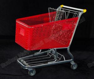 Plastic Supermarket Convenient Retail Store Shopping Cart pictures & photos