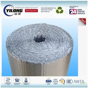 Double Sided Aluminum Foil PE Bubble Roll Insulation pictures & photos