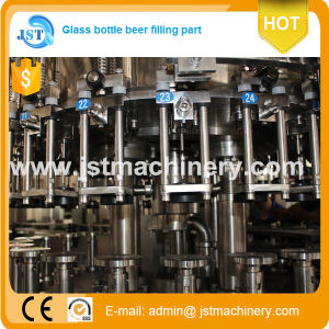 3 in 1 Automatic Beer Bottling Production Machine pictures & photos