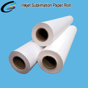 80GSM 90GSM 100GSM 108GSM Quick Dyring Digital Sublimation Transfer Paper Roll Made in China pictures & photos