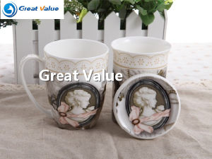 Factory Direct New Design Environmental Protection Ceramic Mug pictures & photos