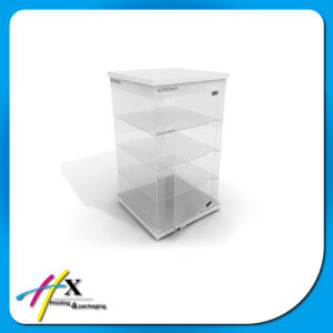 Transparent Acrylic Display Glass Foods Jewelry/Watch/Sunglasses Display Cabinet Counter pictures & photos