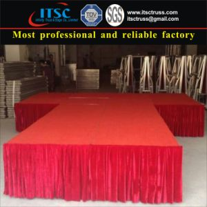 4X8FT Folding Stage Wtih Steel (ITSC-S04) pictures & photos