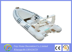 Summer Sport Ce 4.7m White Rib Fibreglass Fishing Boat