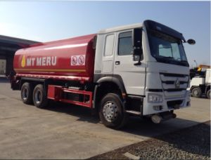 Sinotruk HOWO 6X4 25m3 Capacity HOWO Fuel/Oil Transport Tank/Tanker Truck pictures & photos
