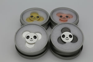Fingertip Gyroscope Spinner Panda Finger Triangle Hands Focus Toys Gift pictures & photos