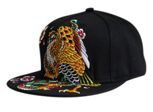 Chinese Style Embroidery Hip Hop Cap pictures & photos
