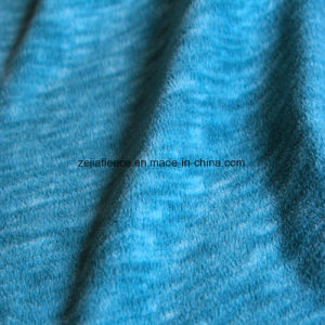 Cation Printing Effect Micro Fleece, Jacket Fabric pictures & photos