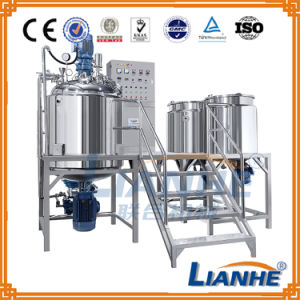 Guangzhou Lianhe Body Cream Cosmetic Vacuum Emulsifying Machine pictures & photos