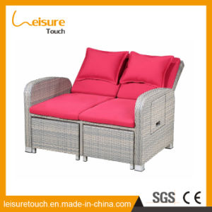 Indoor Leisure Furniture Garden Bedroom Balcony Lazy Sofa Rattan Deck Chair Gradient Adjustable pictures & photos