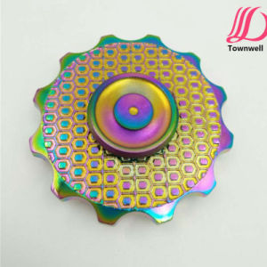 Zinc Alloy Fidget Spinners Spins 3+ Minutes pictures & photos