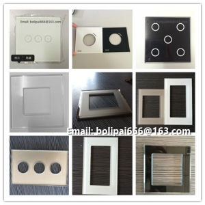 India White and Black Switch Glass Panel for Sale pictures & photos