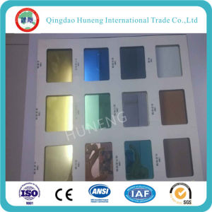 2mm Tinted Mirror with Blue, Green, Wine Red, Purple Ect Color pictures & photos