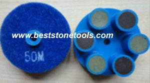 Dry 6 Dots Diamond Polishing Pad pictures & photos