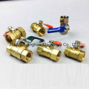 Gas Valve Brass Mini Valve pictures & photos