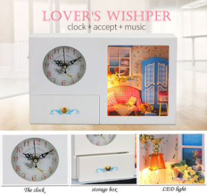 Wholesale Kids Wooden Toy Clock pictures & photos