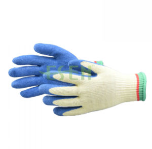 2017 Hot Selling Plastic Anti-Skid Gloves, Industrial Working Gloves pictures & photos