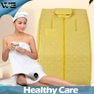 Health Portable Foldable Best Cheap Far Infrared Sauna Therapy pictures & photos
