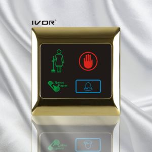 Hotel Doorbell System Touch Panel in Metal Outline Frame (SK-dB2001SYS) pictures & photos