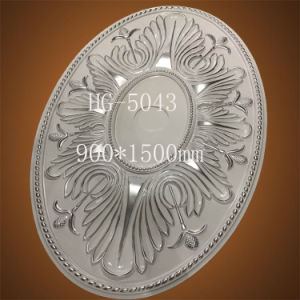 1.5 Meter Elliptic Lamp Panel PU Polyurethane Ceiling Medallions for Villa Decoration pictures & photos